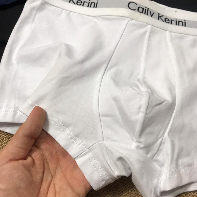 Combo 3 quần lót nam boxer CK06, sịp đùi nam ck cao cấp