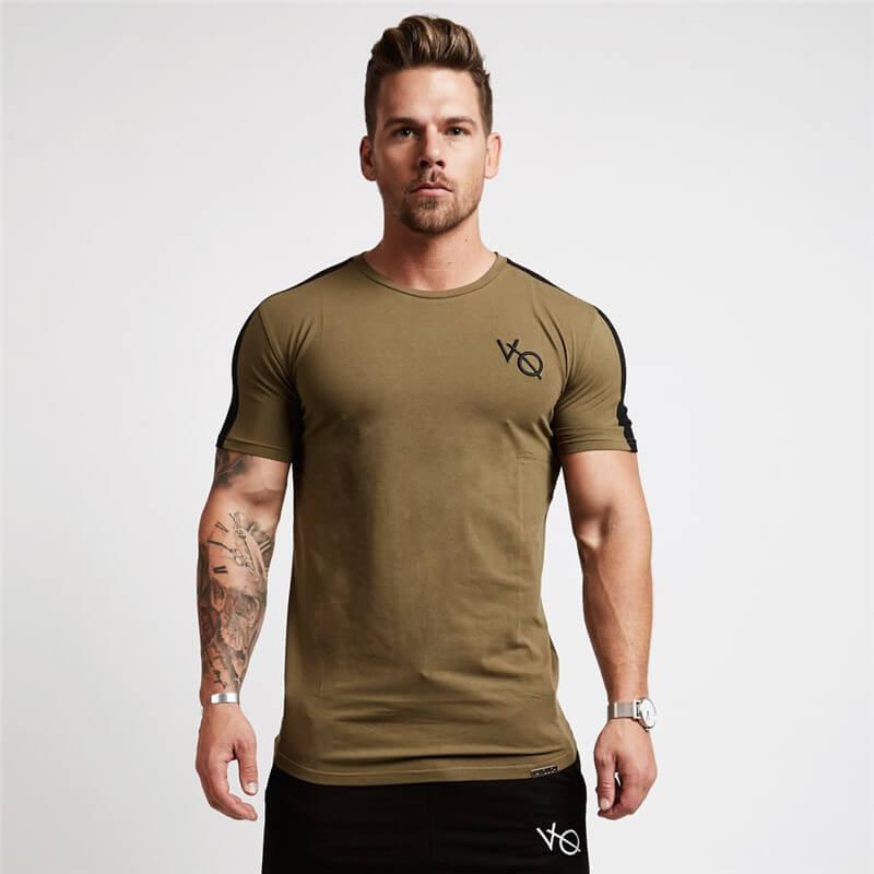 Áo thun nam tay ngắn, áo tập gym nam VO02
